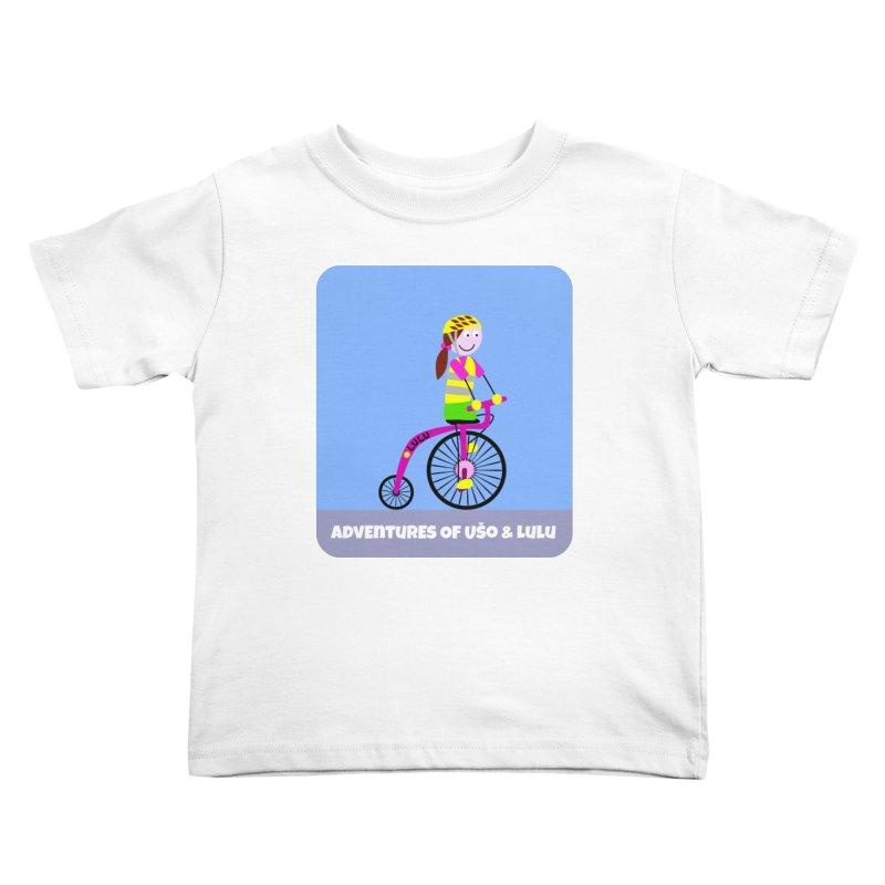 High wheel - Low carbon footprint  Kids Toddler T-Shirt by usomic's Artist Shop