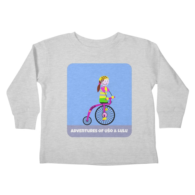 High wheel - Low carbon footprint  Kids Toddler Longsleeve T-Shirt by usomic's Artist Shop