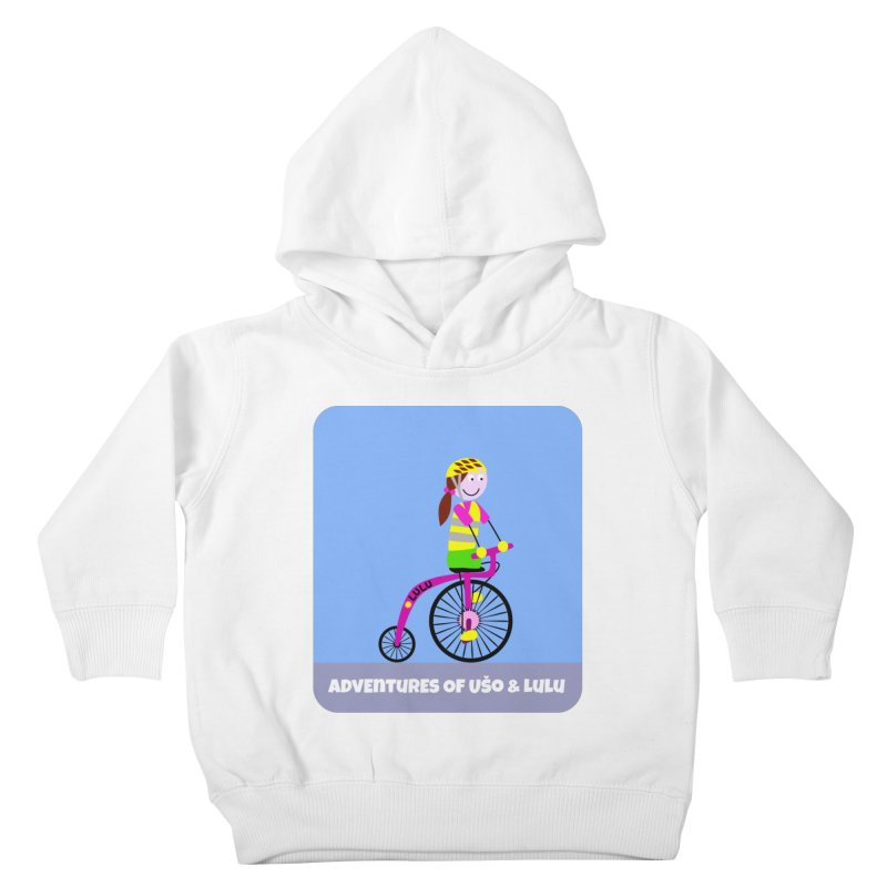 High wheel - Low carbon footprint  Kids Toddler Pullover Hoody by usomic's Artist Shop