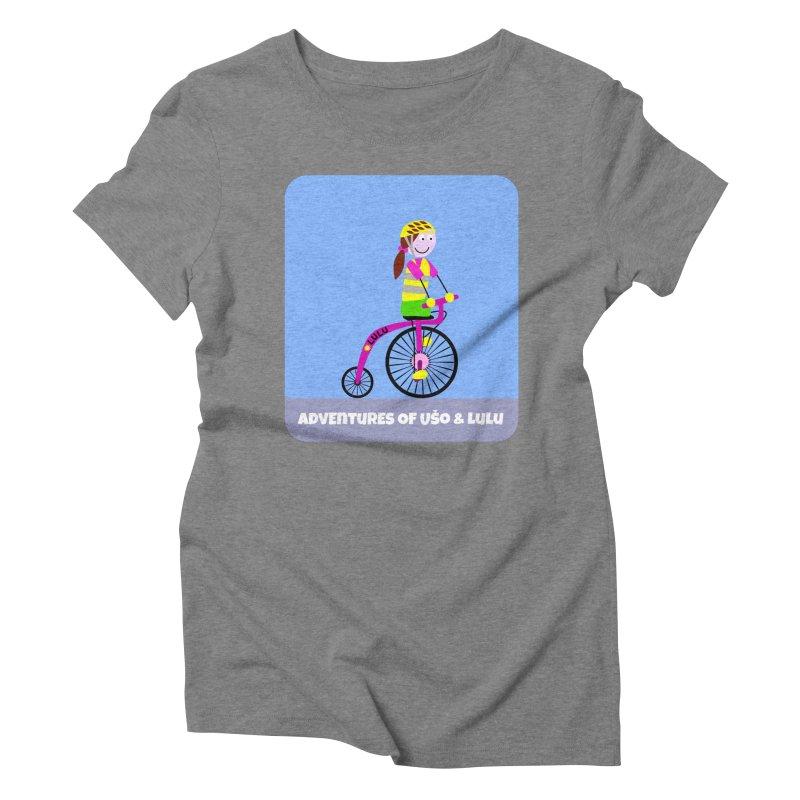 High wheel - Low carbon footprint  Women's Triblend T-Shirt by usomic's Artist Shop
