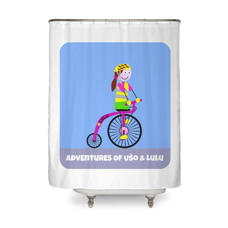 High wheel - Low carbon footprint  Home Shower Curtain by usomic's Artist Shop