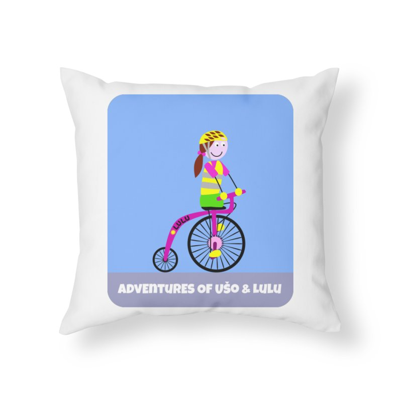 High wheel - Low carbon footprint  Home Throw Pillow by usomic's Artist Shop