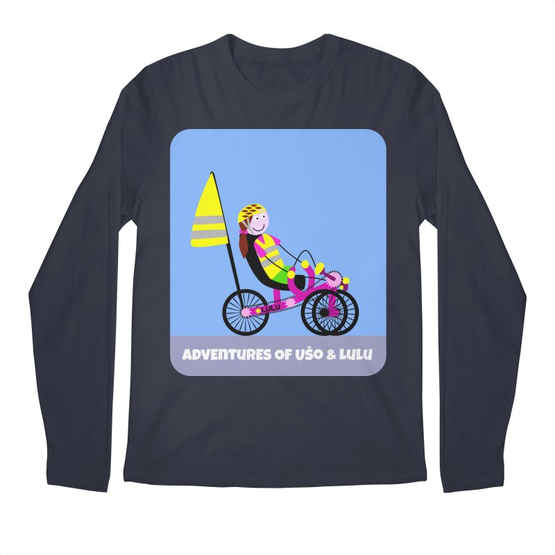 Threedom to Ride Men's Regular Longsleeve T-Shirt by usomic's Artist Shop