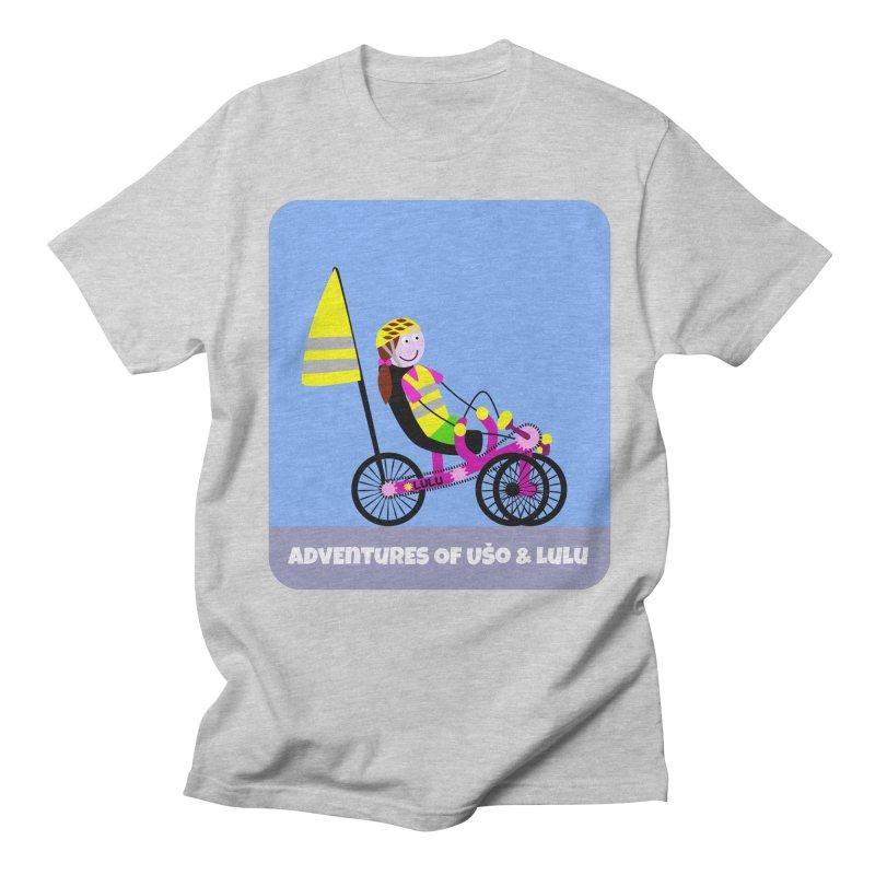 Threedom to Ride Men's Regular T-Shirt by usomic's Artist Shop