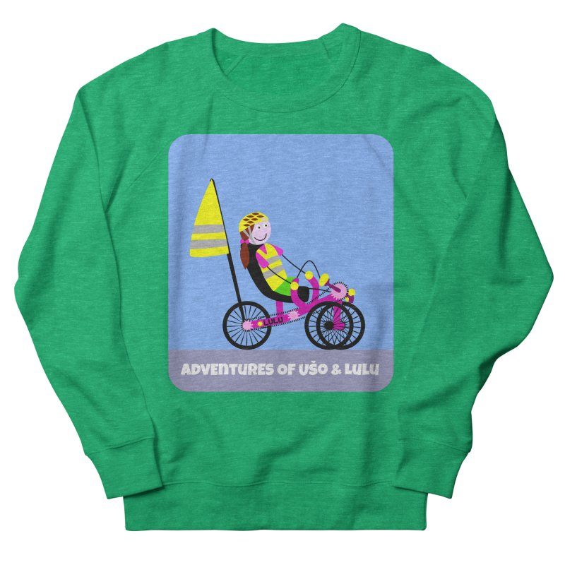 Threedom to Ride Men's French Terry Sweatshirt by usomic's Artist Shop