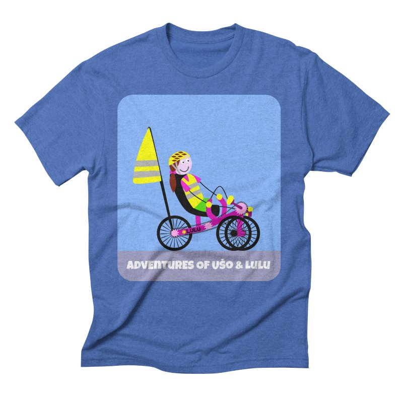 Threedom to Ride Men's Triblend T-Shirt by usomic's Artist Shop