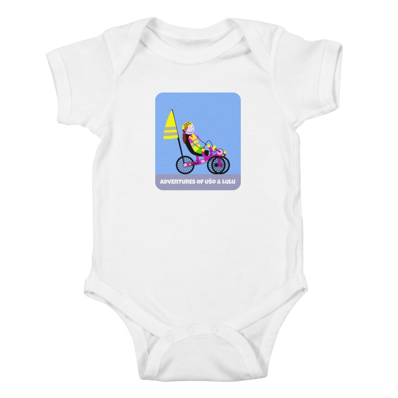 Threedom to Ride Kids Baby Bodysuit by usomic's Artist Shop