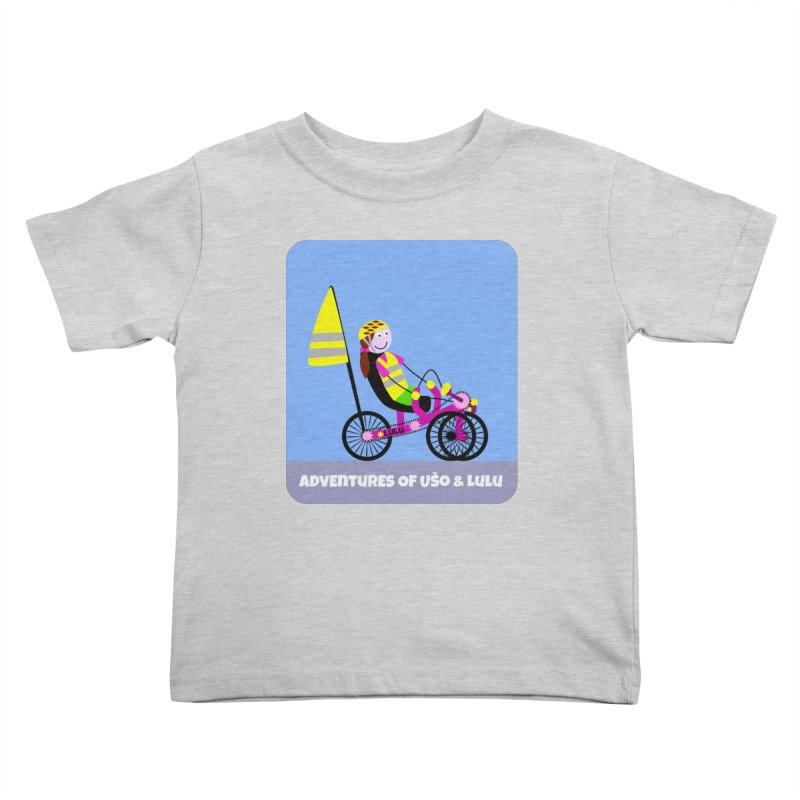 Threedom to Ride Kids Toddler T-Shirt by usomic's Artist Shop