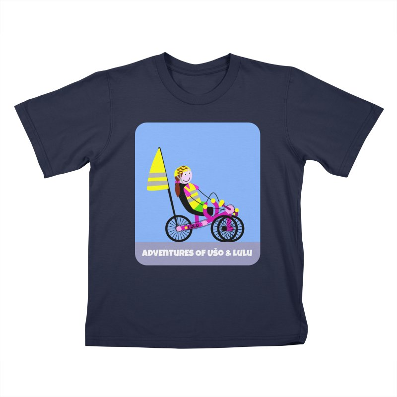 Threedom to Ride Kids T-Shirt by usomic's Artist Shop