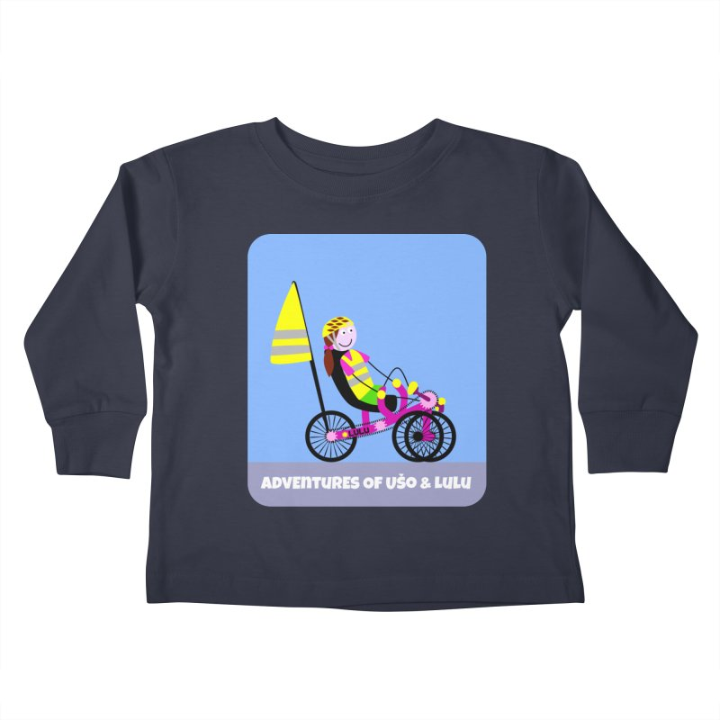 Threedom to Ride Kids Toddler Longsleeve T-Shirt by usomic's Artist Shop