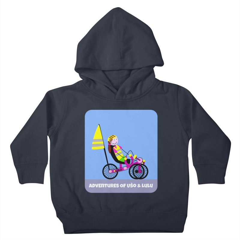 Threedom to Ride Kids Toddler Pullover Hoody by usomic's Artist Shop