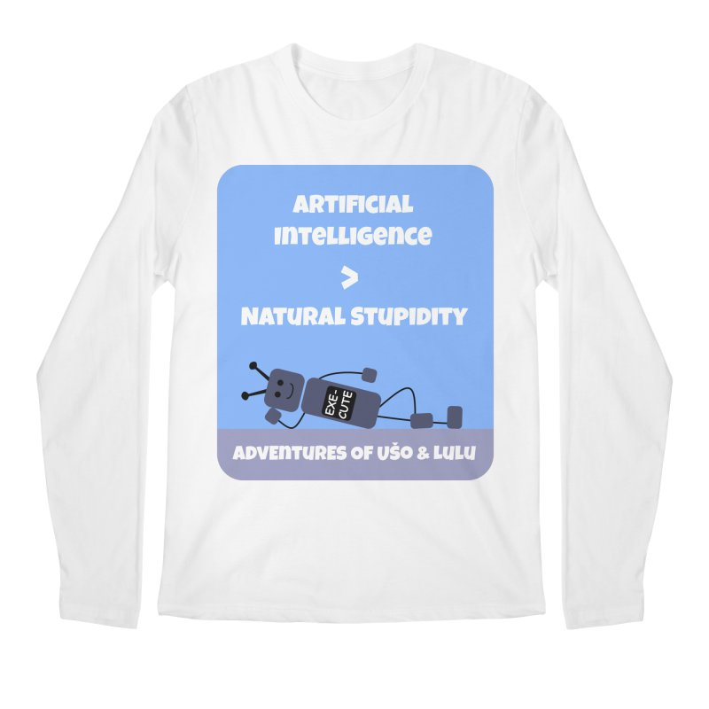 Rise of AI Men's Longsleeve T-Shirt by usomic's Artist Shop