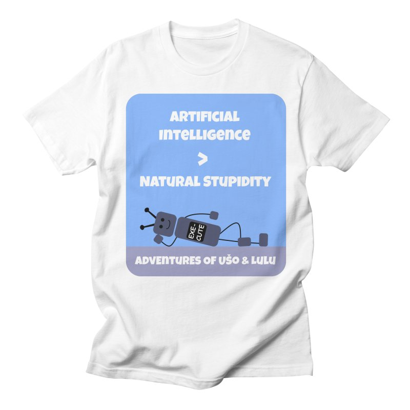 Rise of AI Men's Regular T-Shirt by usomic's Artist Shop