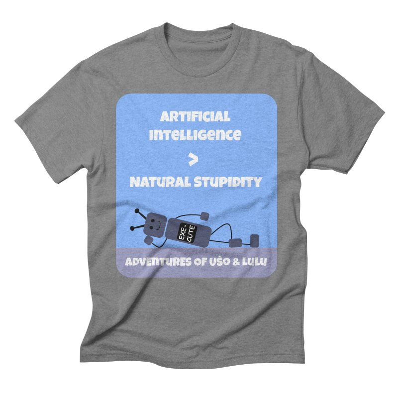 Rise of AI Men's Triblend T-Shirt by usomic's Artist Shop