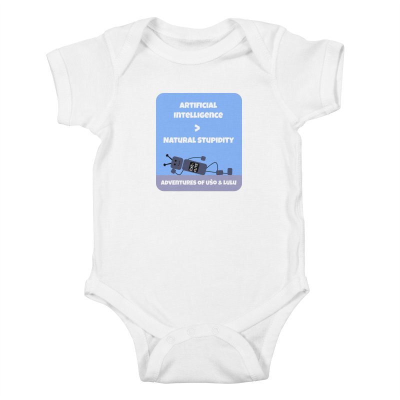 Rise of AI Kids Baby Bodysuit by usomic's Artist Shop