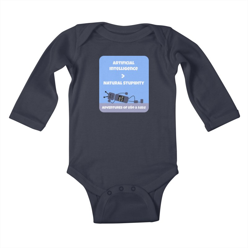 Rise of AI Kids Baby Longsleeve Bodysuit by usomic's Artist Shop