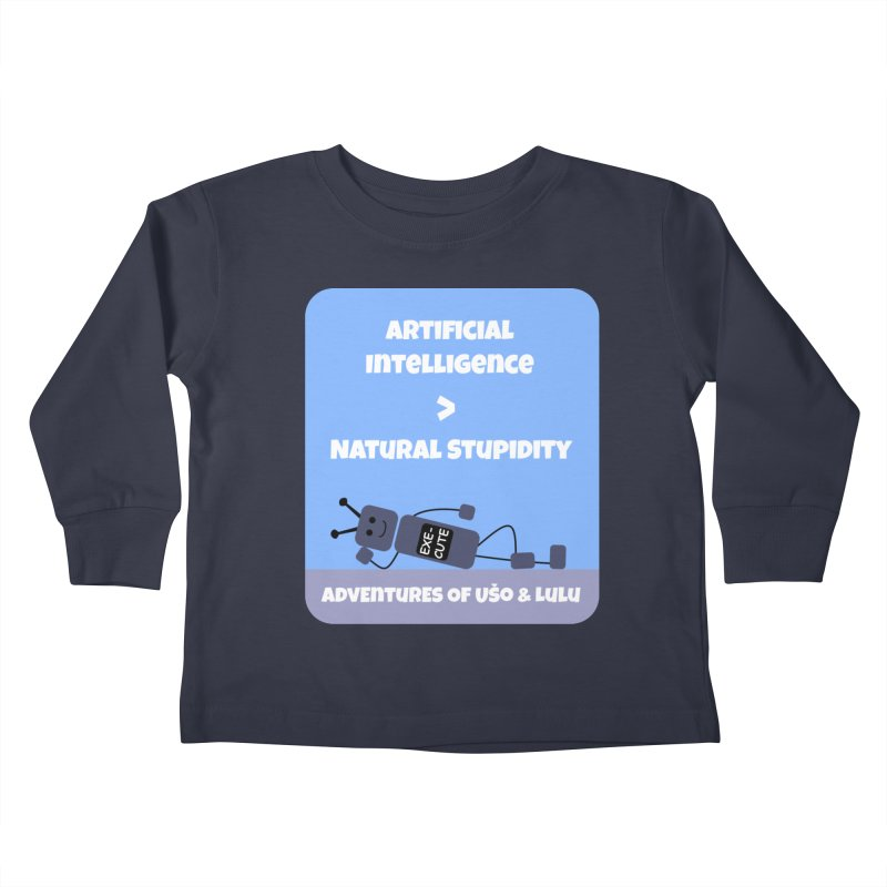 Rise of AI Kids Toddler Longsleeve T-Shirt by usomic's Artist Shop