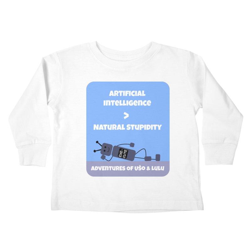 Rise of AI Kids Toddler Longsleeve T-Shirt by usomic's Artist Shop
