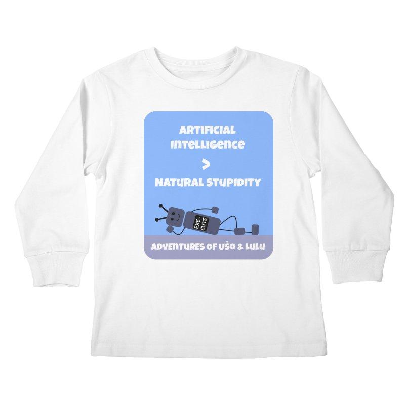 Rise of AI Kids Longsleeve T-Shirt by usomic's Artist Shop