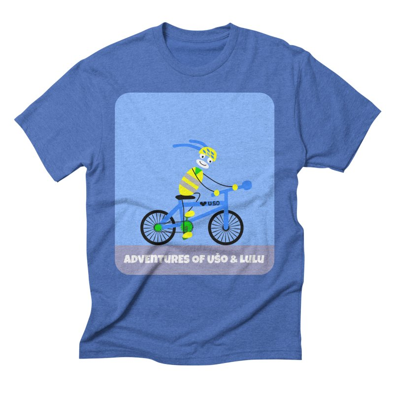 Environmentally Friendly Men's Triblend T-shirt by usomic's Artist Shop
