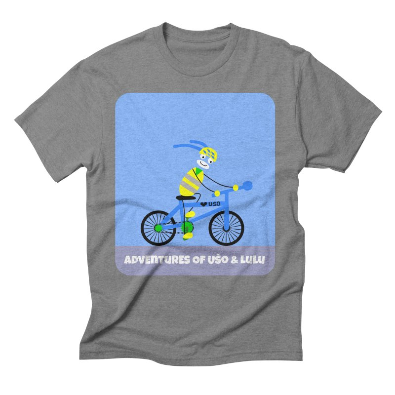 Environmentally Friendly Men's Triblend T-Shirt by usomic's Artist Shop