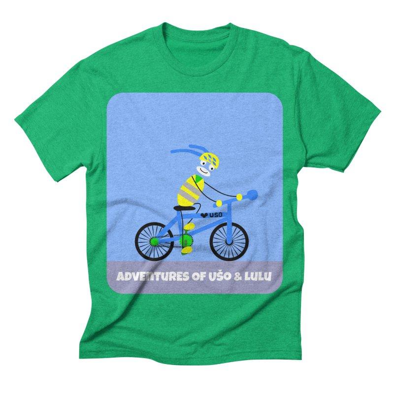 Environmentally Friendly in Men's Triblend T-shirt Tri-Kelly by usomic's Artist Shop