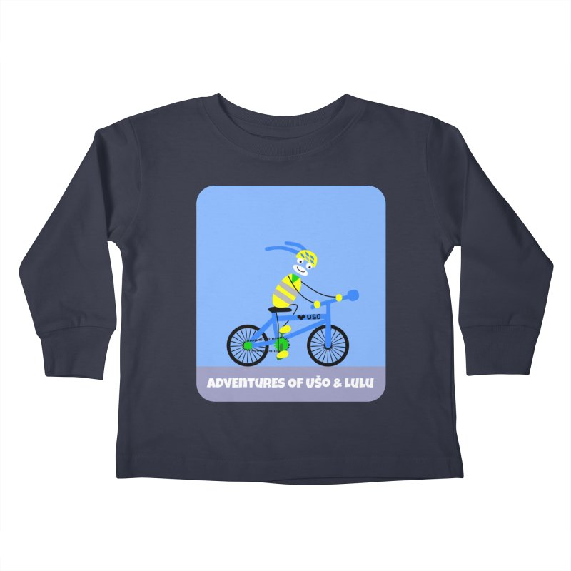 Environmentally Friendly Kids Toddler Longsleeve T-Shirt by usomic's Artist Shop
