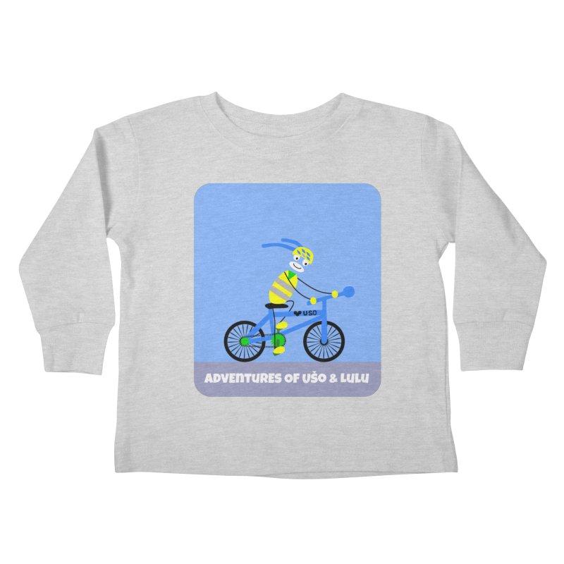 Environmentally Friendly Kids Toddler Longsleeve T-Shirt by usomic's Artist Shop