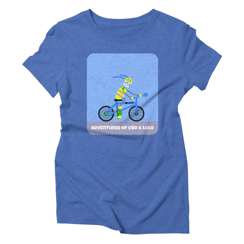 Environmentally Friendly Women's Triblend T-Shirt by usomic's Artist Shop