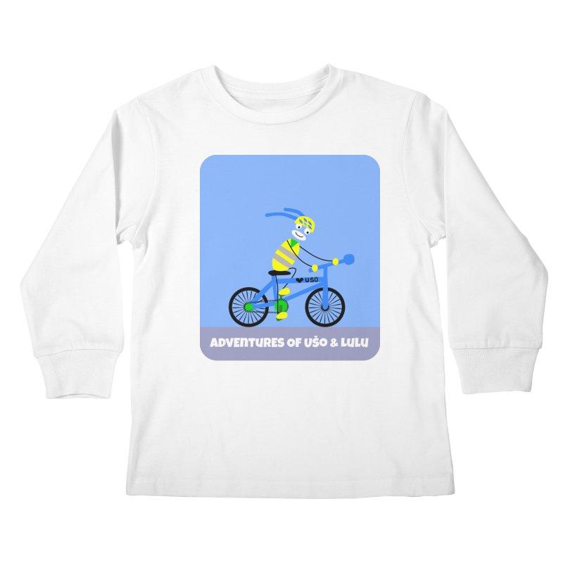 Environmentally Friendly Kids Longsleeve T-Shirt by usomic's Artist Shop