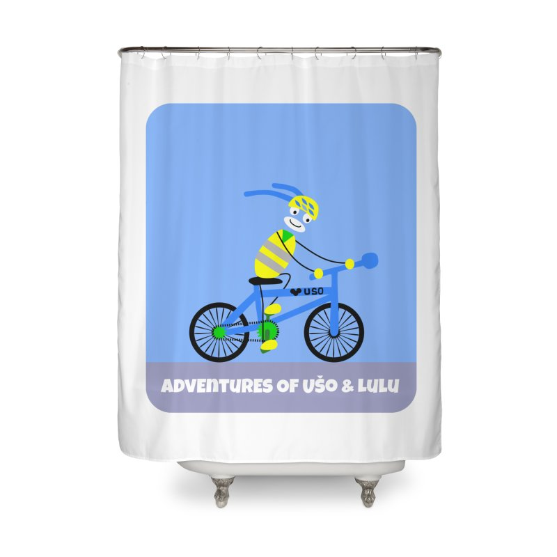 Environmentally Friendly Home Shower Curtain by usomic's Artist Shop