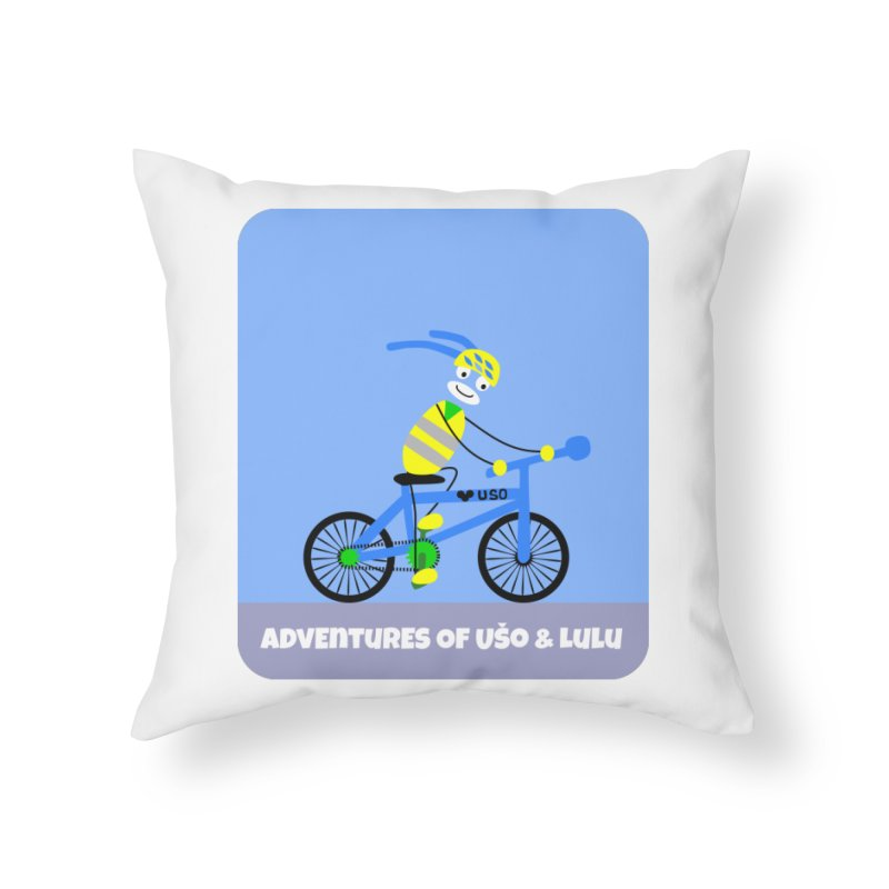 Environmentally Friendly Home Throw Pillow by usomic's Artist Shop