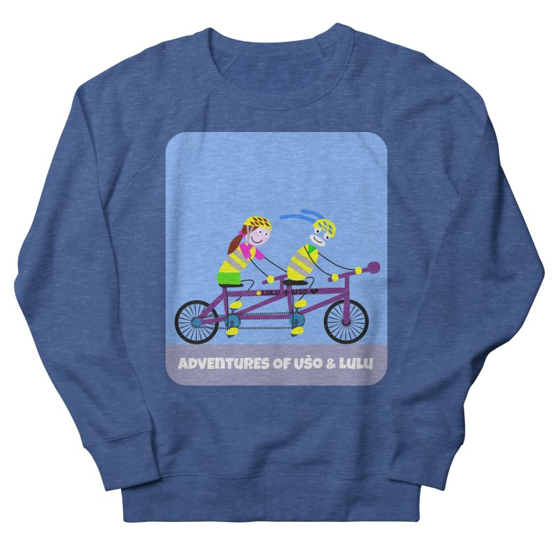 Double Emission Free Men's French Terry Sweatshirt by usomic's Artist Shop