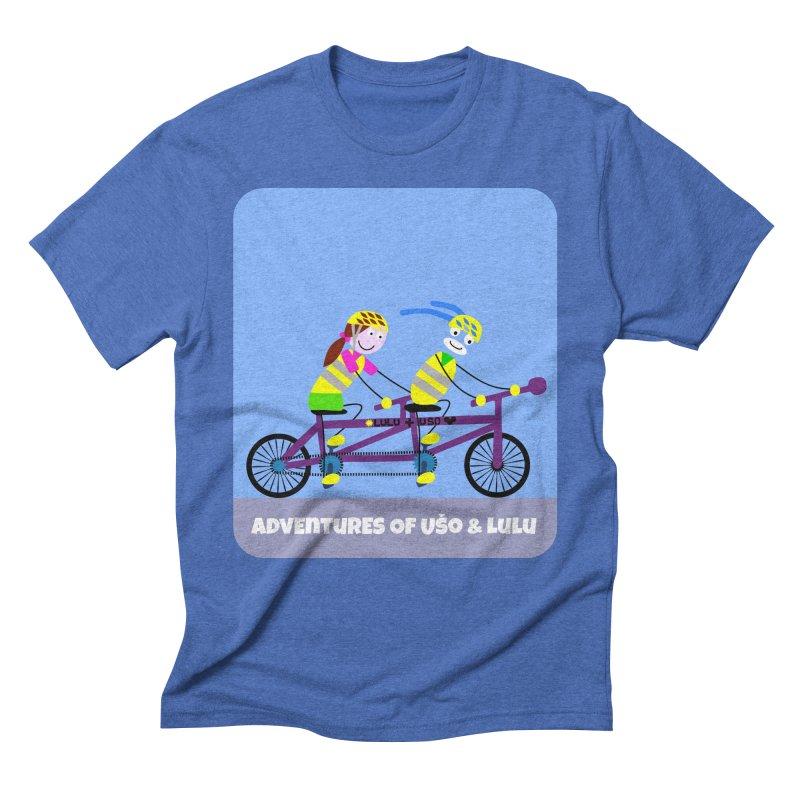 Double Emission Free Men's Triblend T-Shirt by usomic's Artist Shop