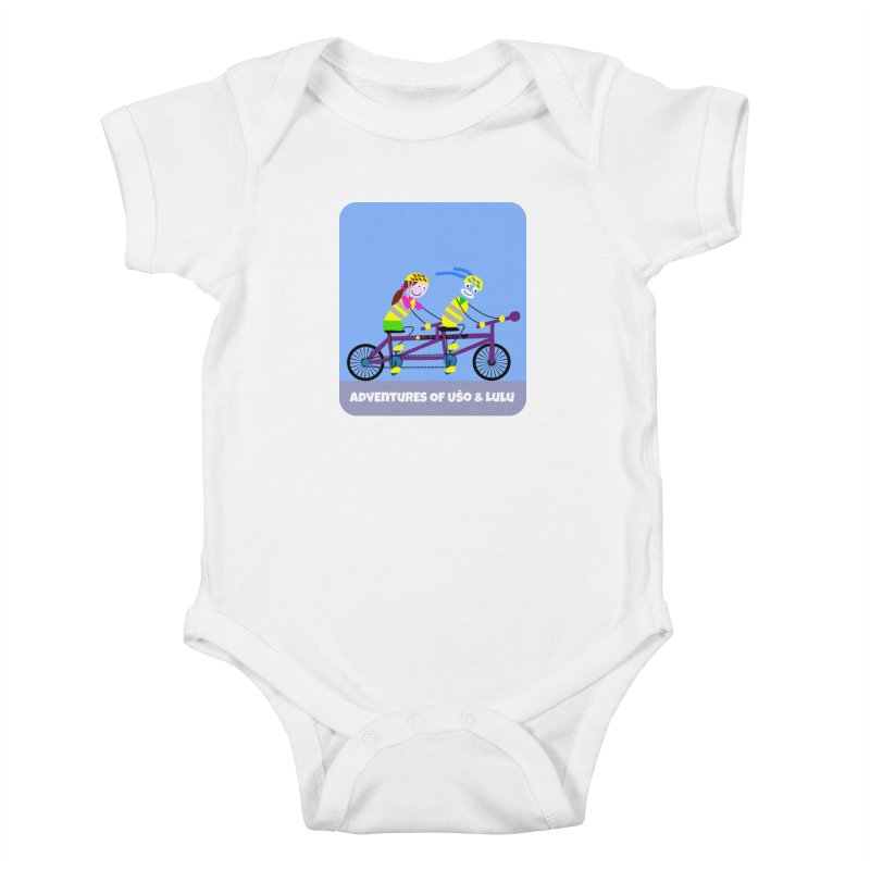 Double Emission Free Kids Baby Bodysuit by usomic's Artist Shop
