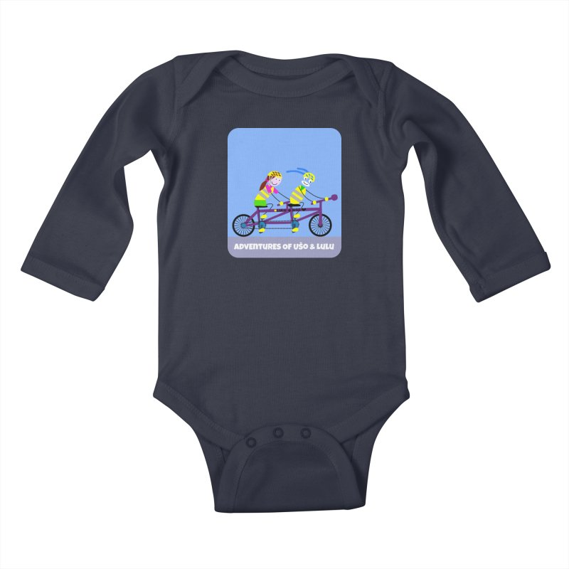 Double Emission Free Kids Baby Longsleeve Bodysuit by usomic's Artist Shop