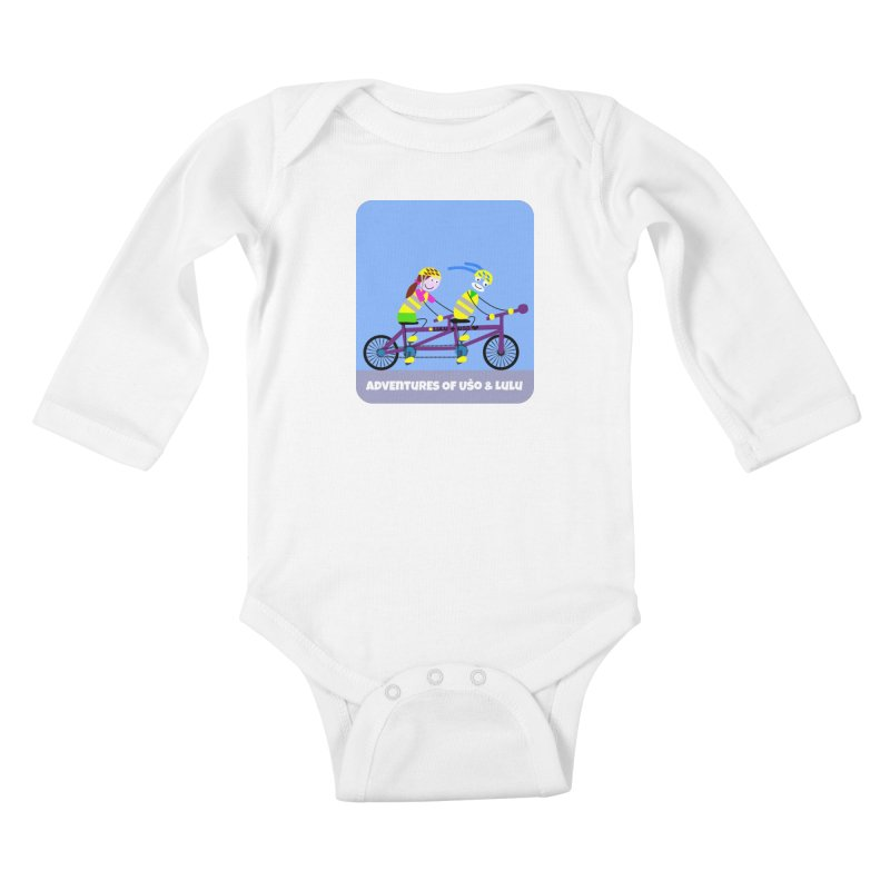 Double Emission Free Kids Baby Longsleeve Bodysuit by usomic's Artist Shop