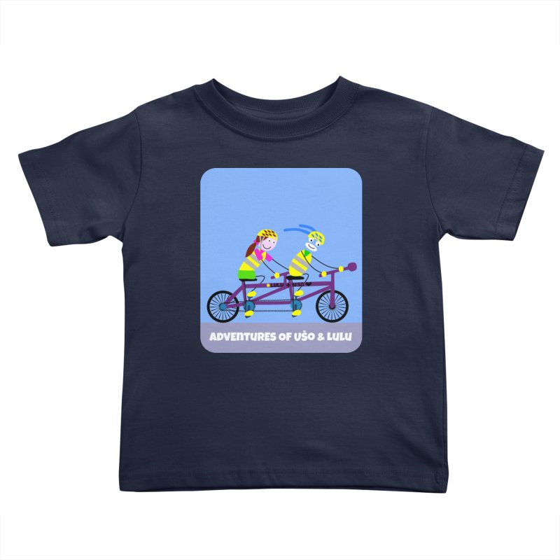 Double Emission Free Kids Toddler T-Shirt by usomic's Artist Shop