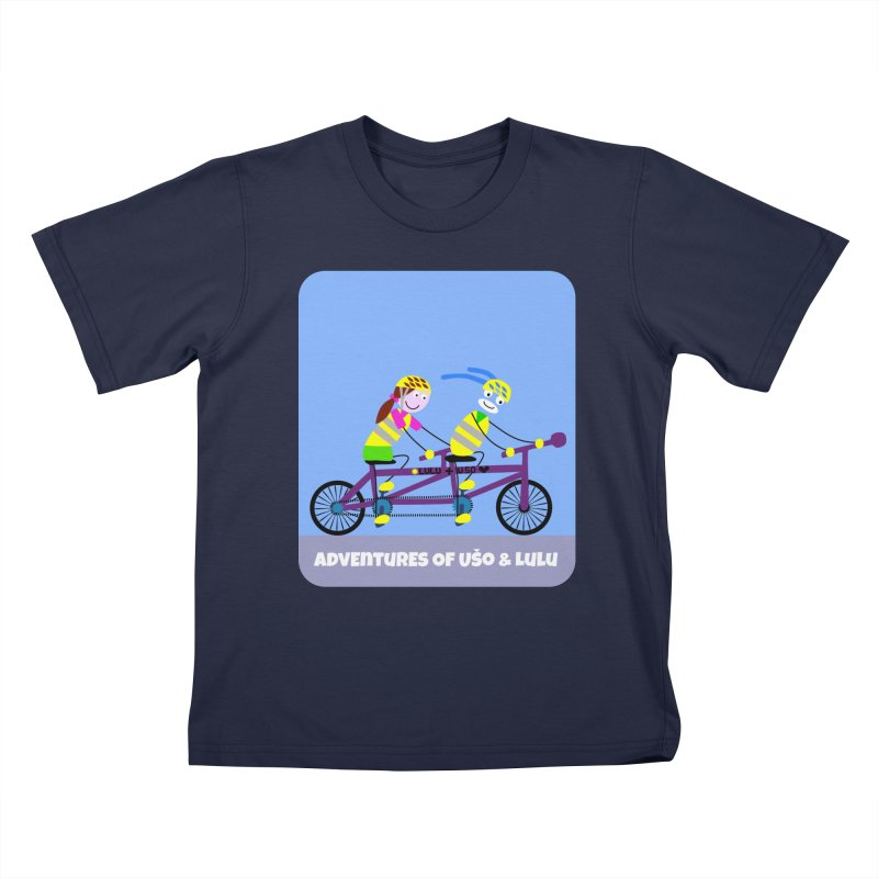 Double Emission Free Kids T-Shirt by usomic's Artist Shop