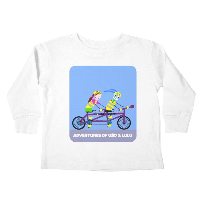 Double Emission Free Kids Toddler Longsleeve T-Shirt by usomic's Artist Shop