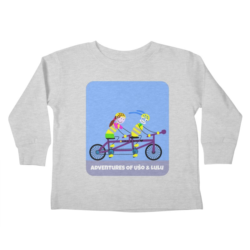 Double Emission Free Kids Toddler Longsleeve T-Shirt by usomic's Artist Shop