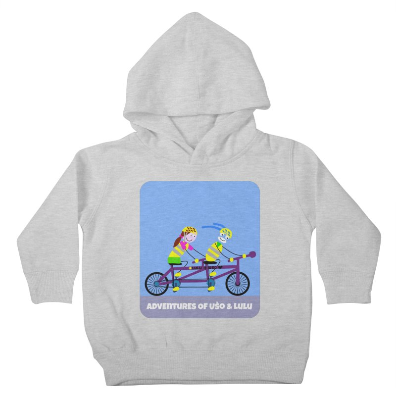 Double Emission Free Kids Toddler Pullover Hoody by usomic's Artist Shop
