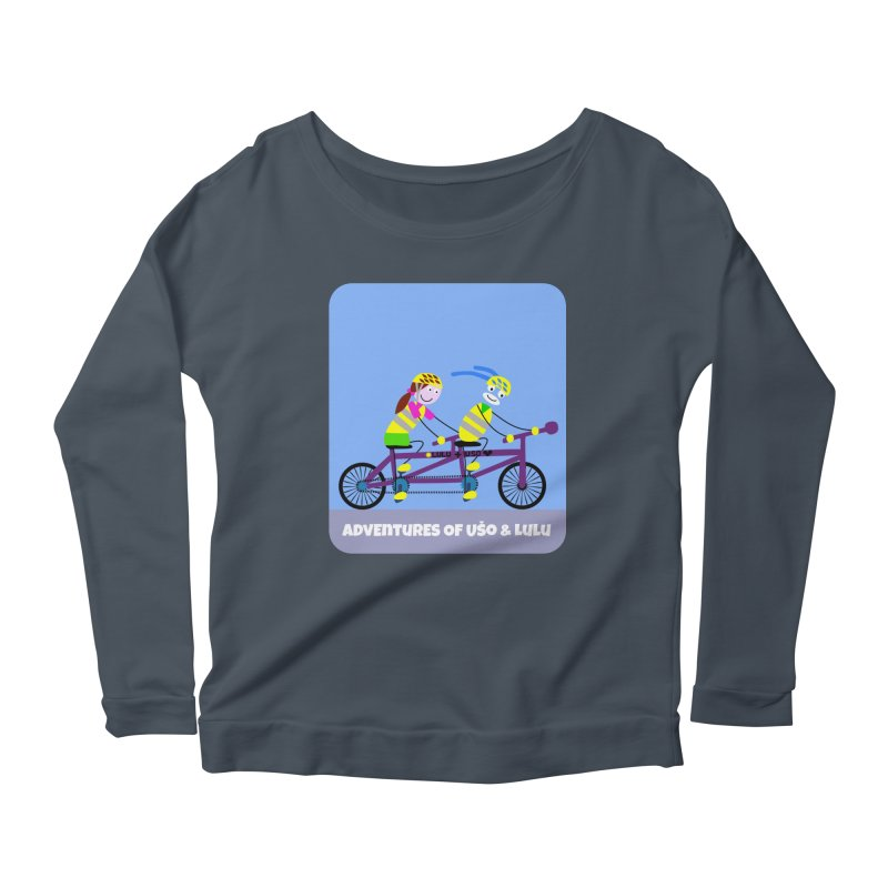 Double Emission Free Women's Longsleeve Scoopneck  by usomic's Artist Shop
