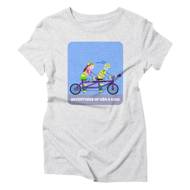 Double Emission Free Women's Triblend T-Shirt by usomic's Artist Shop