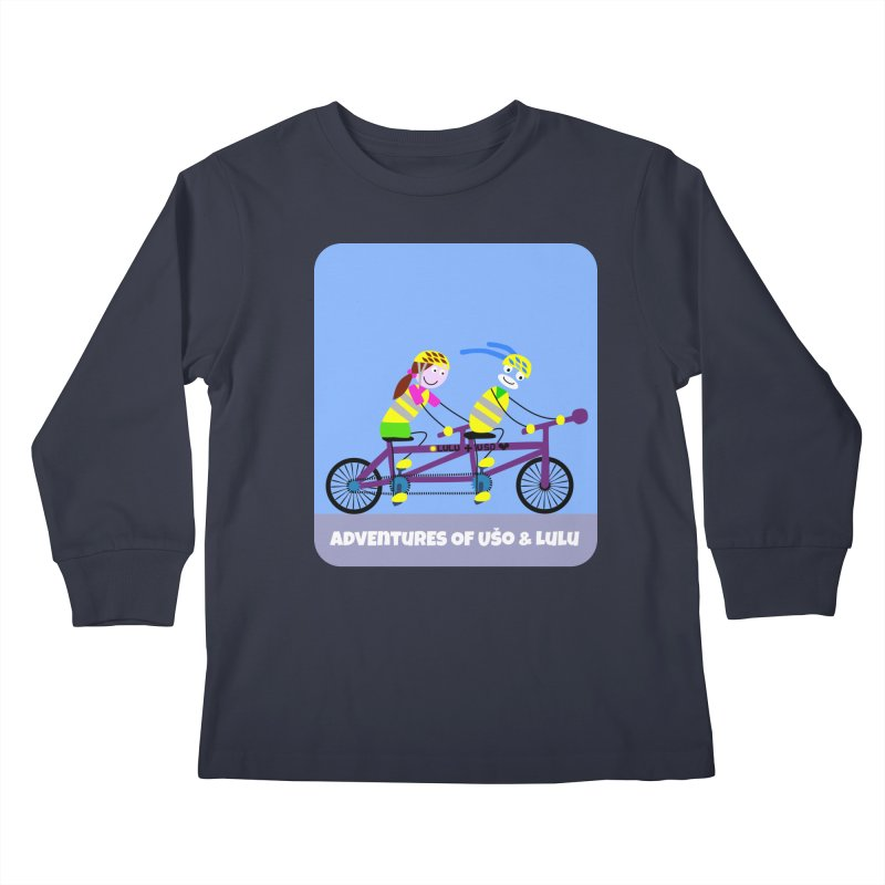 Double Emission Free Kids Longsleeve T-Shirt by usomic's Artist Shop
