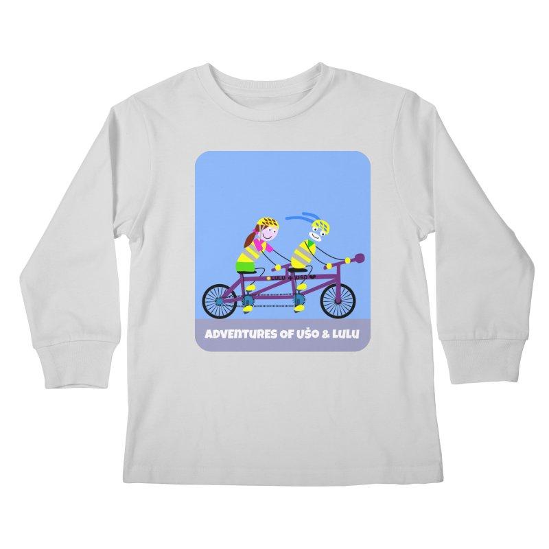 Double Emission Free Kids Longsleeve T-Shirt by usomic's Artist Shop