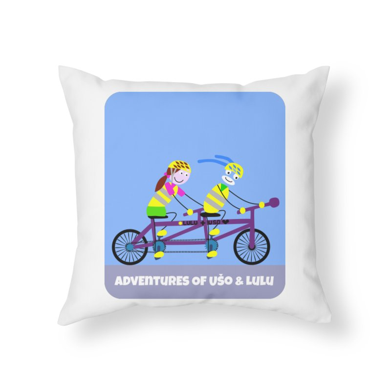 Double Emission Free Home Throw Pillow by usomic's Artist Shop