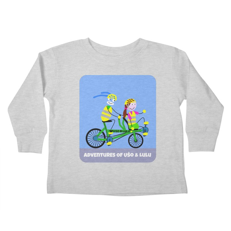 Free Family Workout Kids Toddler Longsleeve T-Shirt by usomic's Artist Shop