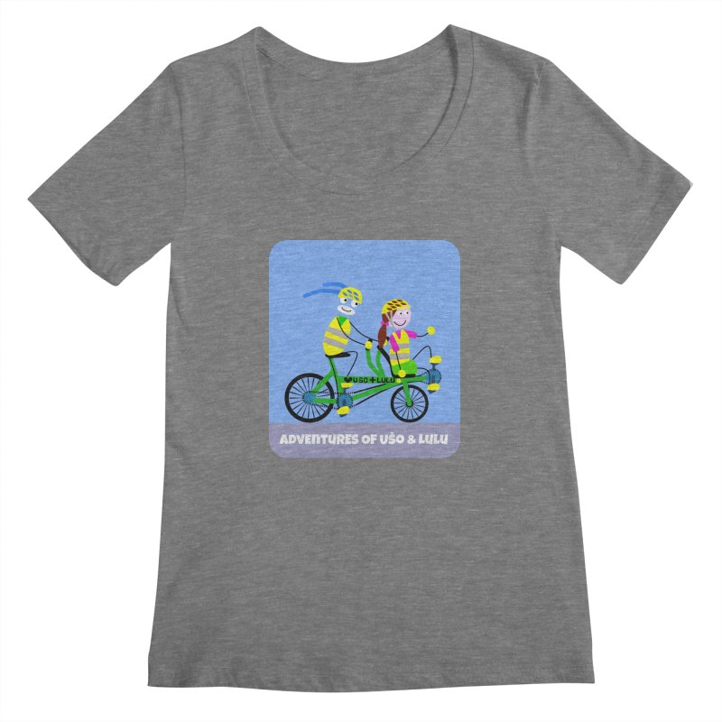 Free Family Workout Women's Scoopneck by usomic's Artist Shop