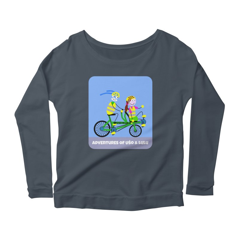 Free Family Workout Women's Longsleeve Scoopneck  by usomic's Artist Shop